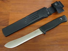 Fallkniven Butcher Knife VG10 Blade, Thermorun Handle and Zytel Sheath