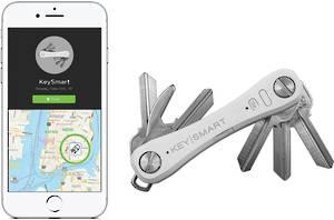 KeySmart Pro With Tile Smart Location White