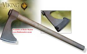 Hanwei Short Bearded Viking Axe, Antiqued - XH2043N