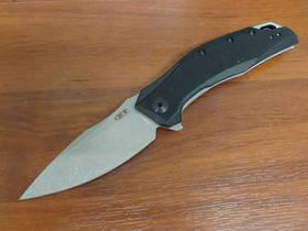 Zero Tolerance Assisted Flipper CPM-20CV Blade, Black G10 Handles