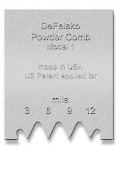Powder Comb