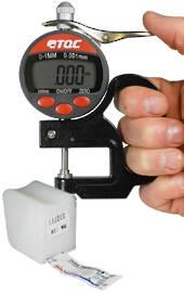 Testex Profile Tapes & Gauges