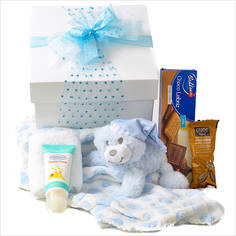 Snuggle Baby Gift Box - Blue