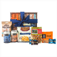Beer and Snacks Gift Box