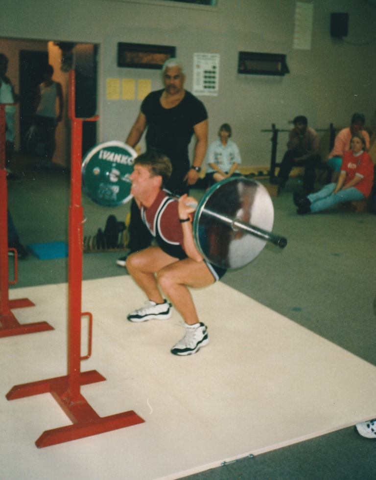 Marty Power Lifting
