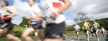 Runners feel good mentally