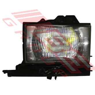 HEADLAMP - L/H - W/HOUSING - (1429) - TO SUIT - HOLDEN JACKAROO 1992-