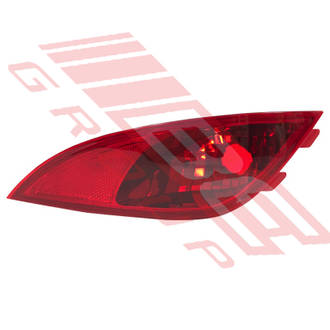REAR FOG LAMP - R/H - GOES IN BUMPER - TO SUIT - HYUNDAI IX35 2010-