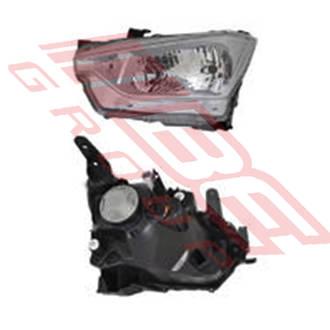 HEADLAMP - L/H - MANUAL - TO SUIT ISUZU D-MAX P/UP 2020-