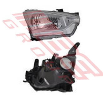 HEADLAMP - R/H - MANUAL - TO SUIT ISUZU D-MAX P/UP 2020-