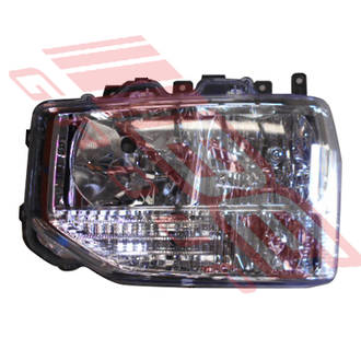 HEAD LAMP - L/H - TO SUIT TOYOTA COASTER B60/B70 BUS 2016-