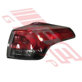 REAR LAMP - R/H - LED TYPE - TO SUIT TOYOTA RAV4 2016-  FACELIFT