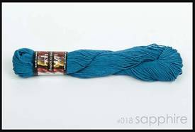 100% Hemp - Double Knitting / 8 Ply Weight - Sapphire