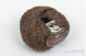 65% Wool and 35% Hemp - Double Knitting / 8 Ply Weight  - Terra