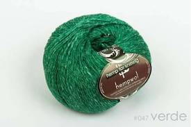 65% Wool and 35% Hemp - Double Knitting / 8 Ply Weight  - Verde