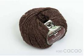 65% Wool and 35% Hemp - Double Knitting / 8 Ply Weight  - Cacao