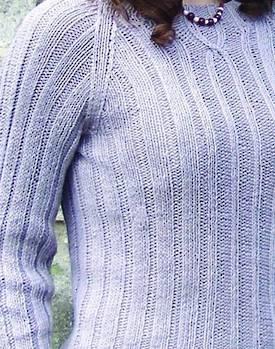 Ribbing Distinction Hemp Knitting Pattern