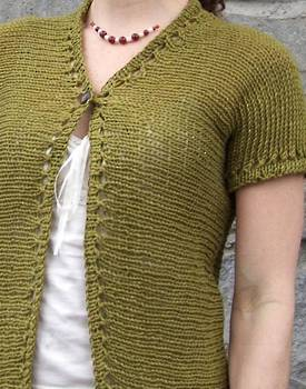 Eyelet Ease Hemp Knitting Pattern