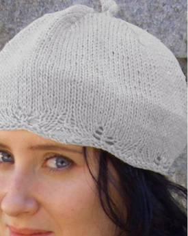Kathy's Everywhere Tam Hat - Small Hemp Knitting Project
