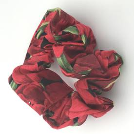 Red Tulips Scrunchie