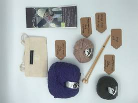 Get to Know Hemp Blends  Knitting Yarn - Kit One - Various Colours