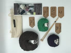 Get to Know Hemp Blends  Knitting Yarn - Kit Two - Various Colours