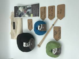 Get to Know Hemp Blends  Knitting Yarn - Kit Three - Various Colours
