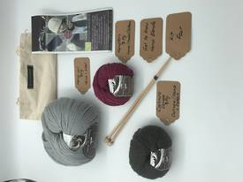 Get to Know Hemp Blends  Knitting Yarn - Kit Four - Various Colours
