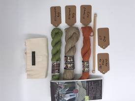 Get to Know Hemp Knitting Yarn - Kit One - Various Colours