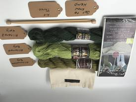 Get to Know Hemp Knitting Yarn - Kit Three - Shades of Green