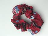 Red Paisley Scrunchie
