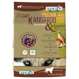 Addiction Wild Kangaroo & Apples 9Kg