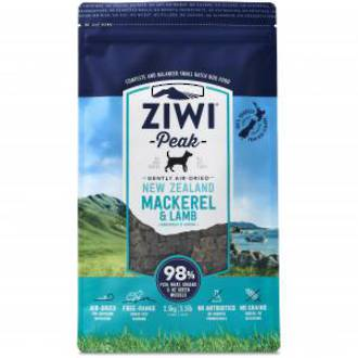 Ziwipeak Air-Dried Mackeral & Lamb 2.5kg