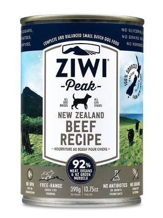 Ziwipeak Beef Can 390gr