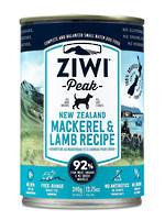 Ziwipeak Mackerel & Lamb Can 390gr