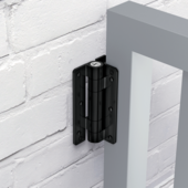 KWIKFIT™   ALUMINIUM - WALL OR POST MOUNTED 1