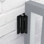 "NEW! KWIKFIT™   ALUMINIUM - WALL OR POST MOUNTED 1"" (25MM)"