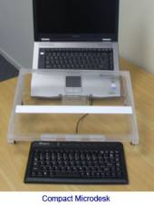 Compact Microdesk