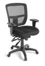 Citizen Mesh Back Chair with Adjustable Armrests