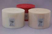 Half Giant Candles cream/vanilla