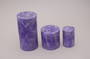 Ultra Violet 7.5x7.5 medium size Pillar