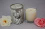 Angel box candle with a Pomegranate fragrances