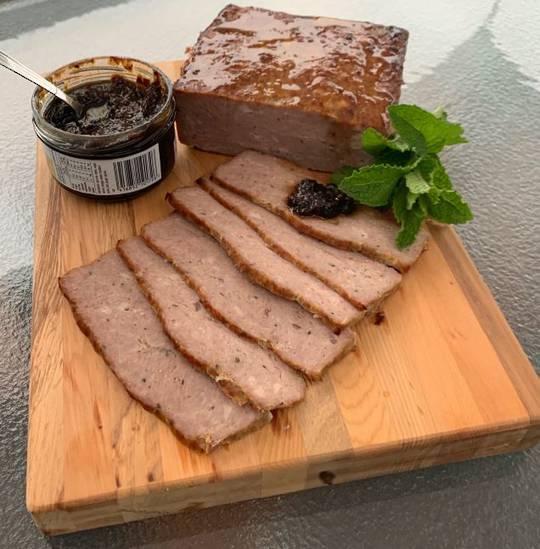 Frozen Turkey Meatloaf (1.4kg)