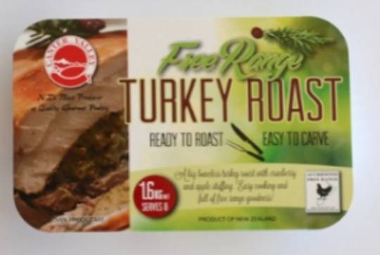 Frozen Free Range Turkey Tray Roast 1.6kg