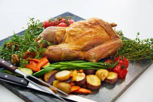 Free Range Frozen Butterflied Turkey 2.8kg