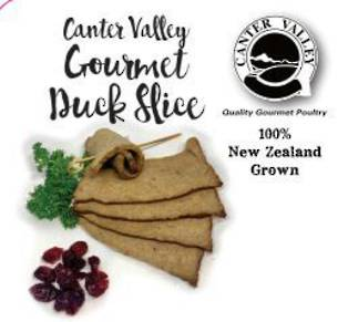 Frozen Gourmet Duck Slice 500g