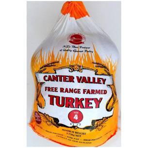 **FRESH** FREE RANGE TURKEY SIZE 4
