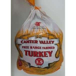 **FRESH** FREE RANGE TURKEY SIZE 3.5KG