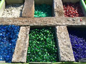 Coloured Glass Stones