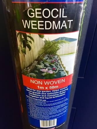 Geocil Weedmat 1m x 50 m Roll